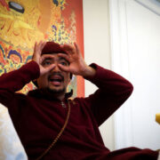 Chogyal Rinpoche giving explanations on impermanenceions