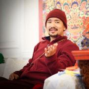 Chogyal Rinpoche giving teachings Mahayana - Vajrayana